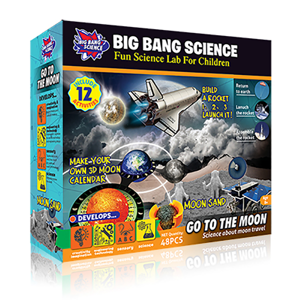 GO TO THE MOON-planet toys for kids