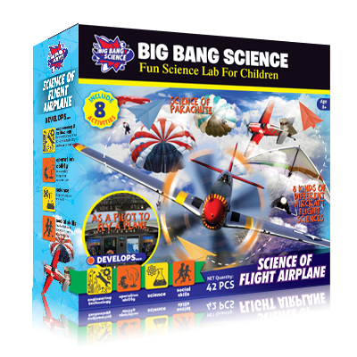 SCIENCE OF FLIGHT AIRPLANE-flying toys