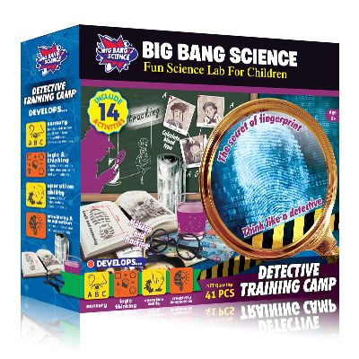DETECTIVE TRAINING CAMP-kids detective games