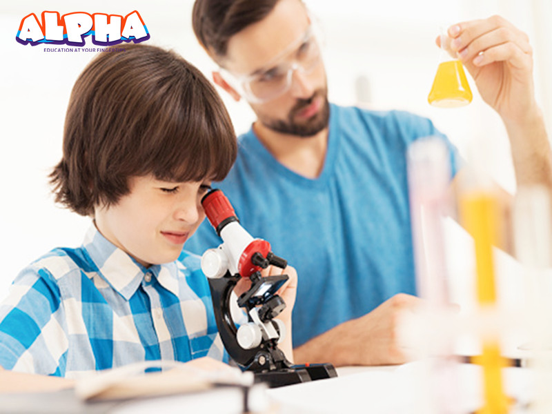 Alpha science classroom:Play with -educational science toys
