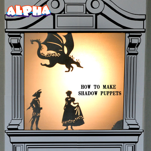 Alpha science classroom: How to make shadow puppets