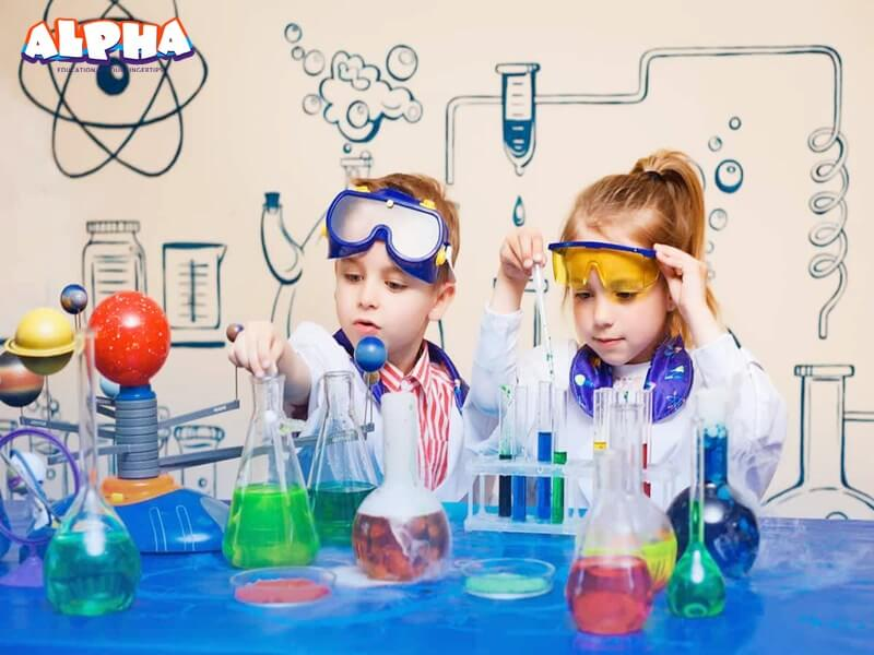 Alpha science classroom:science experiments