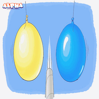 Alpha science classroom:Balloon Magic with Bernoulli's Principle