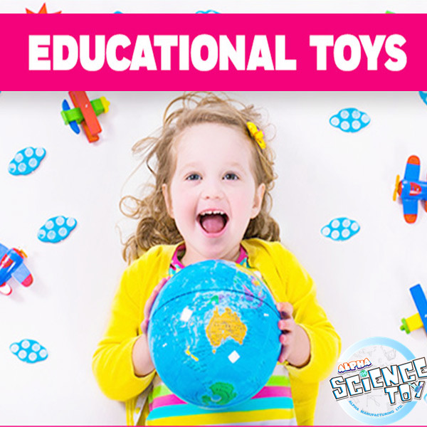 Alpha science toys:Why educational toys are so important for children?