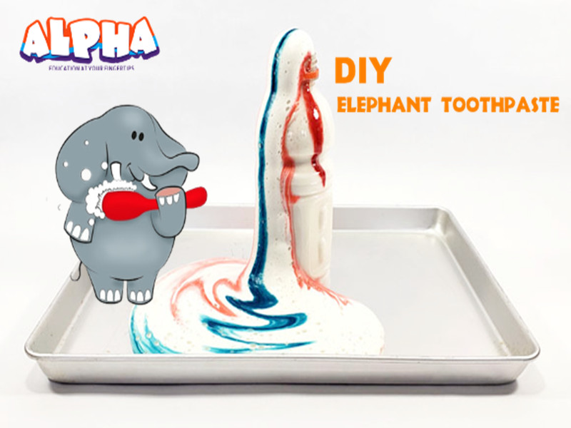 Alpha science classroom-elephant toothpaste