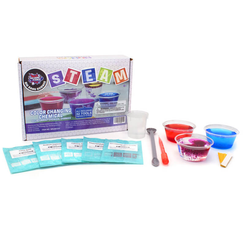 Color Changing Chemical Medium-kit